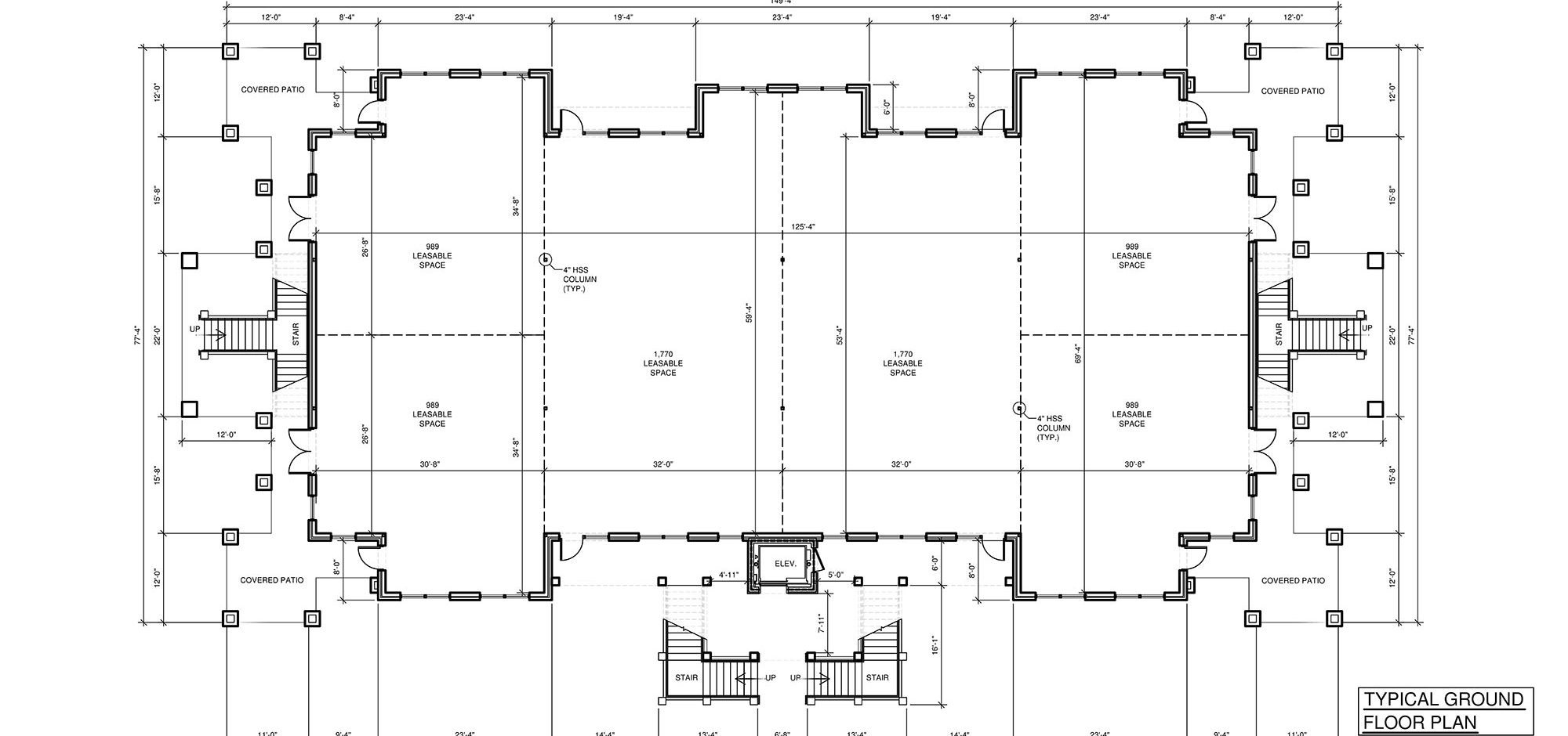 Floor plans available for commercial lease at Olive Chapel Professional Park